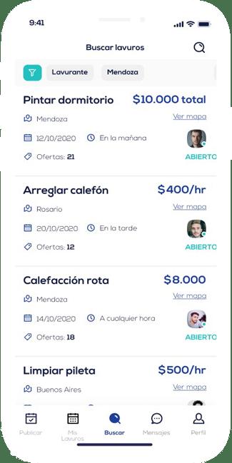 lavuro app4