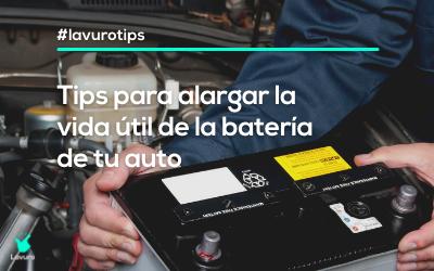 batería del auto